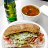 WEEKLY LUNCH PICK: Chicken, spicy salami, and spic...