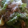 Superb Caesar salad at Caffe Ventuno