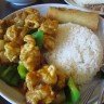 Lunch special at Rice Pea is the steal of the year at $7.50