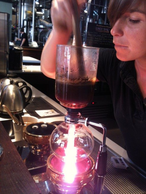 Watching the siphon in action is half the fun