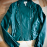 Neiman Marcus leather coat
