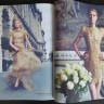 Amanda Nimmo looks gorgeous in gold in FASHION Magazine's 35th anniversary issue.