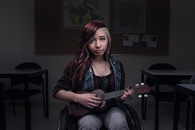 Sarah Mercer, Injuries, surgeries, and medication will always be part of her life, but that doesn't faze her as much as the transition to the adult health care system. Photo: Justin Van Leeuwen