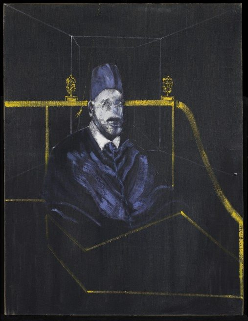 Francis Bacon Study for Portrait VI 1953 Oil on canvas 152 x 117 cm The Minneapolis Institute of Arts, The Miscellaneous Works of Art Purchase Fund © Estate of Francis Bacon / SODRAC (2013)