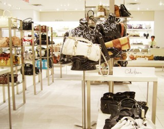 Coveted handbags are a big draw at Holt Renfrew.
