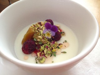 Panna cotta. Photo by Anne DesBrisay.