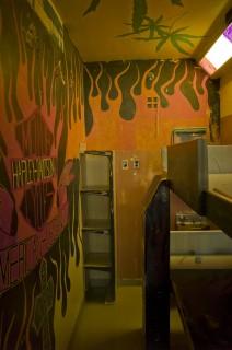 Cell decorated with Harley Davidson, 2013. Photo by Geoffrey James
