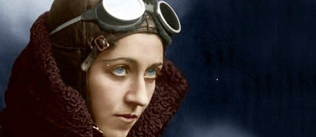 Amy Johnson, fearless pilot who is among the women aviators being featured in the Spitfire Dance, a play being performed at the War Museum beginning on Thursday, Oct. 23.