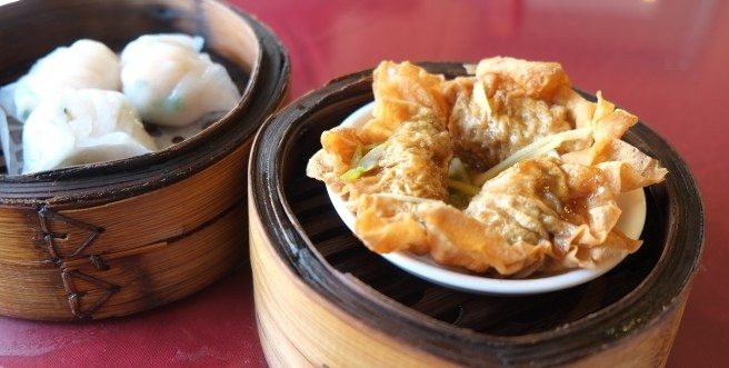 Hung Sum Steamed green onion ginger beef dumplings. Photo by Anne DesBrisay