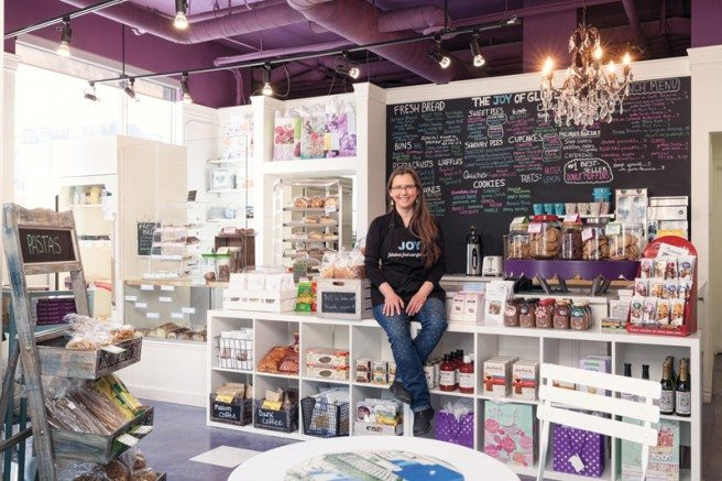 Susan Phipps, owner of the Joy of Gluten Free, is highlighted in the Bakers section of the 2015 Eating & Drinking guide. Photo by Justin Van Leeuwen